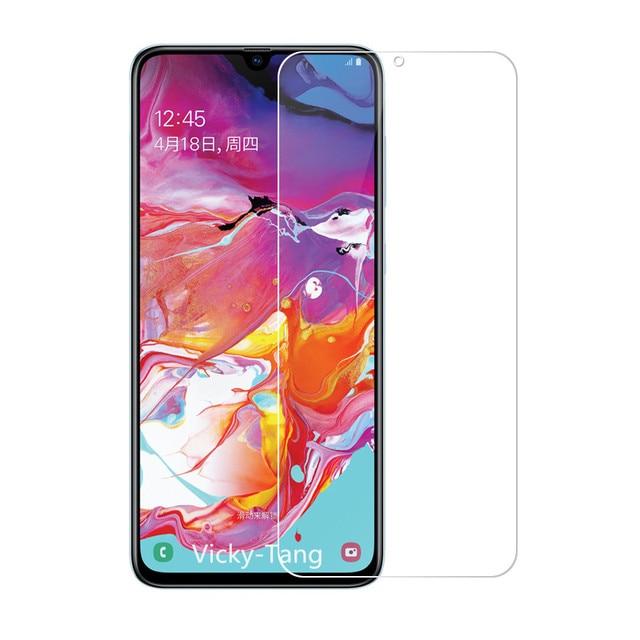 מזג זכוכית עבור Samsung Galaxy A70 מסך מגן 2.5D 9 שעתי מזג זכוכית עבור Samsung A70 SM A705F/DS A7050 מגן סרט