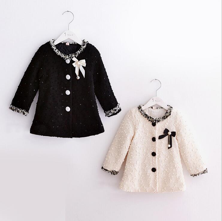 ba5dc0c0c13d Kids Outwear Wool Knitted Jacket Solid Color Fashion Baby Girls Boys ...