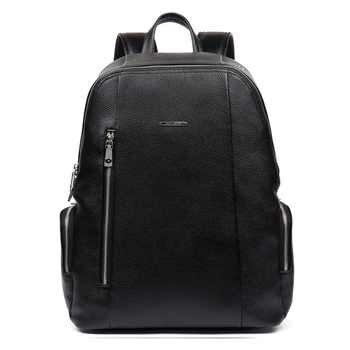 BOSTANTEN Genuine Leather Men\'s Backpacks Bolsa Mochila for Laptop Notebook Computer Bags Men Business style Backpack Rucksack