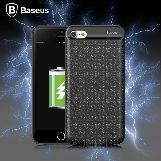 the best attitude 67b27 b9268 US $32.04 |Baseus Battery Case For iPhone 8 Battery Charger Case 5000mAh  Fast Charger Power Bank Battery Case For iPhone 8 Plus Cover Coque-in  Battery ...