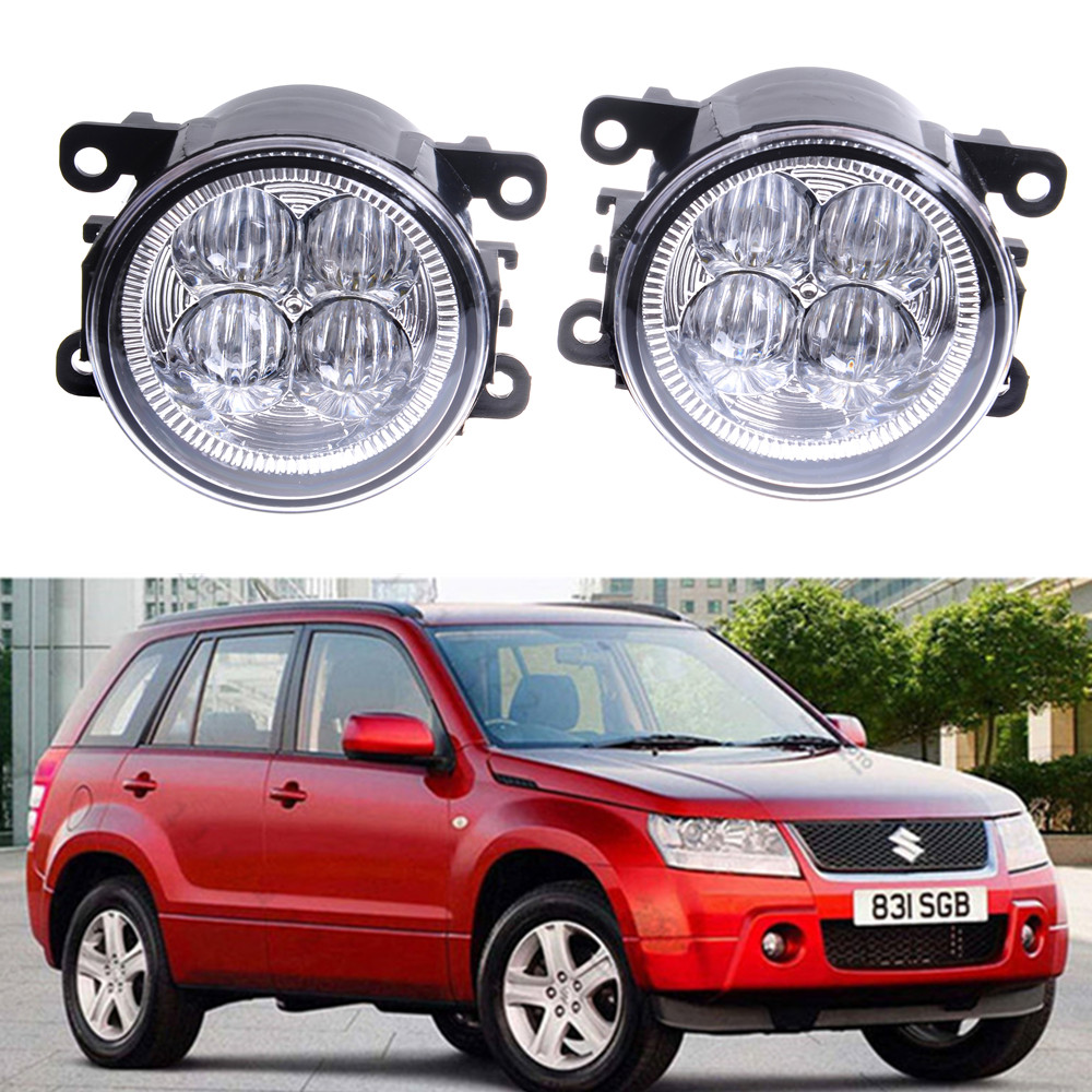 For Suzuki Grand Vitara 2 JT 2005-2015 10W High power Lens fog lights Car styling Fog Lights 1set jt paintball ready 2 play marker kit outkast power package