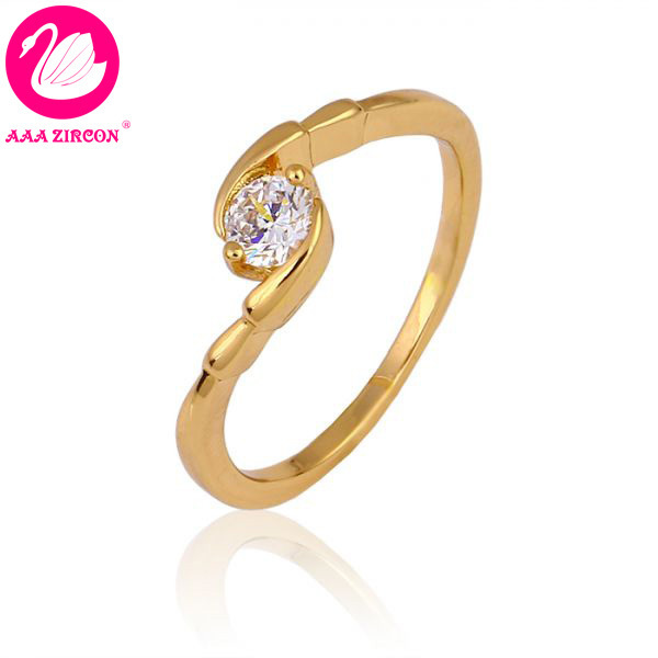 18k Real Gold Plated 2 Gs 0 4 Ct Round Brilliant Cut Grade Aaa Solitaire Cz Diamond