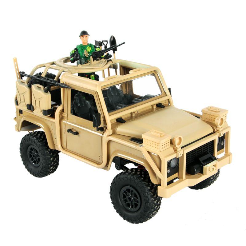 MN modèle MN96 1/12 2.4G 4WD contrôle proportionnel voiture Rc avec lumière LED escalade tout-terrain camion RTR véhicule jouet