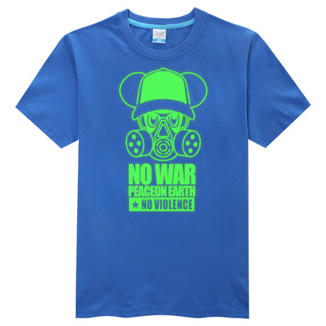Dünya barış Savaş Karşıtı T-shirt Moda erkekler rahat gömlek - Erkek Giyim - Fotoğraf 5