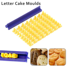 Baking Molds Tools Number Alphabet Biscuit Cutter Fondant Cookie Mould Cake Cutters Decor
