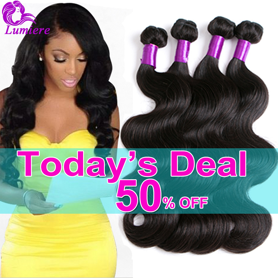Brazilian Body Wave 4 Bundles 8A Mink Brazilian Virgin Hair Body Wave Brazilian Hair Weave Bundles Natural Human Hair Extensions
