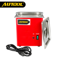 AUTOOL MCT100 Car Ultrasonic Fuel Injector Cleaning Machine Cleaner Auto Petrol Gasoline Diesel Spark Plug PK LAUNCH CNC602A