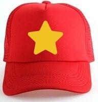 Cosplay Steven Universe Logo Truck hats Snapback Star Adjustable Baseball  Cap Hat Accessory Men c3d020b6603