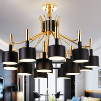Modern Creative Lighting Designer Living Room Pendant Lights Simple Personality Restaurant LED Lighting Creative Villa
