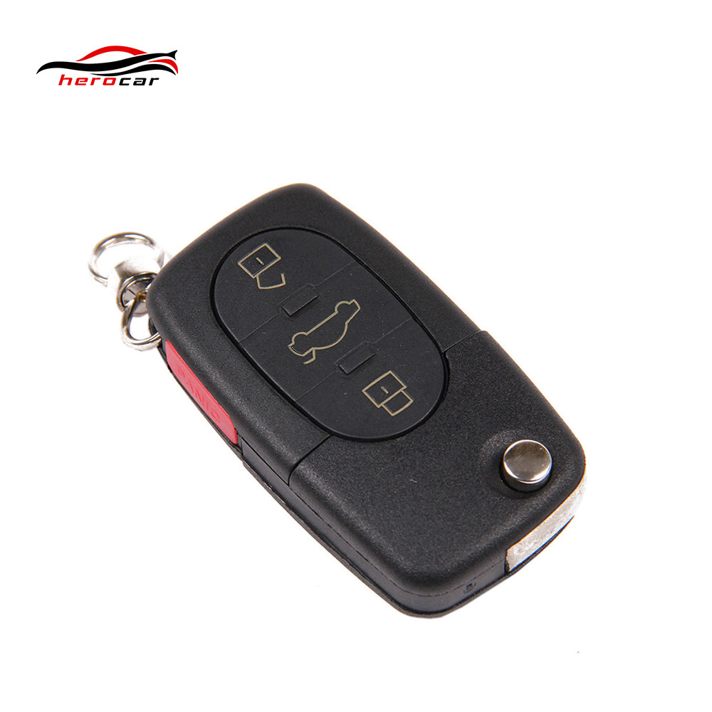 Aliexpress com buy new 4 buttons flip remote key fob case shell cover for volkswagen passat jetta beetle golf 1998 1999 2000 2001 key r 1 from reliable