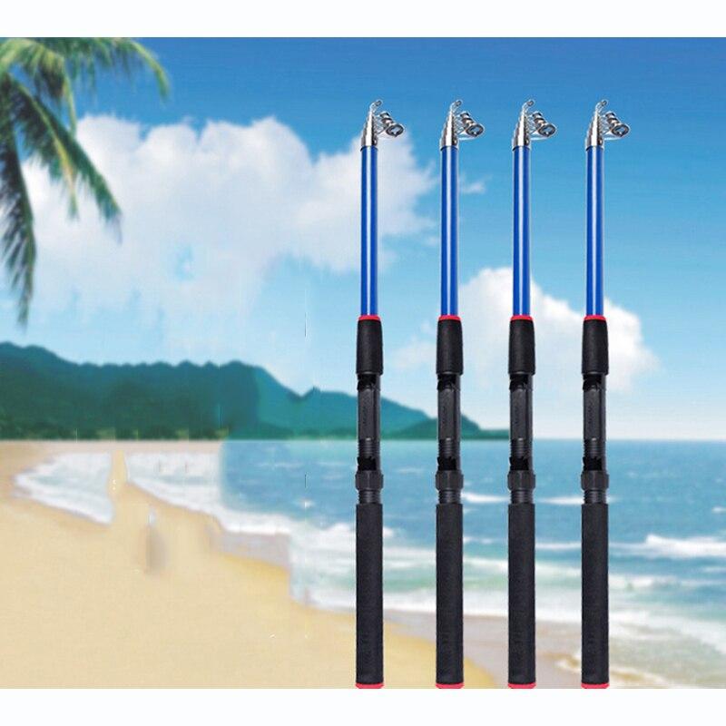 Fishing Rod Glass Fiber Reinforced Plastic Four-layer Thick Fishing Rod Fishing Gear 2018 New mini Fine ZG-164 FRP