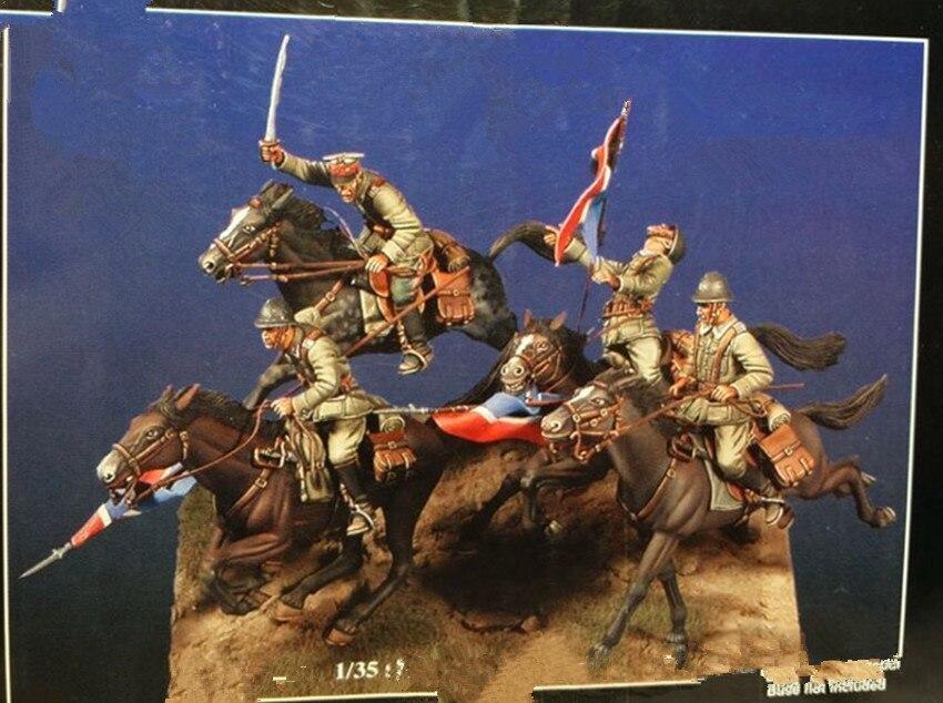 Kit de modelo de figura de resina 1/35 sin pintar 23-in Kits de construcción de maquetas from Juguetes y pasatiempos    1