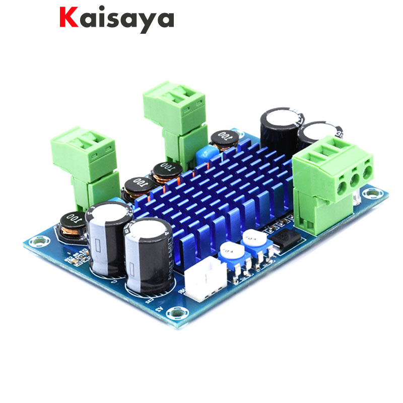 XH-M572 TPA3116D2 2 X 120W Chassis Dedicated Plug-in 5V - 24V - 28V Output  High Power Digital HIFI Amplifier Board E2-001