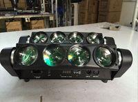 Led Spider Light 8pcs 10w Mini Beam Led RGBW Led Beam Moving Heads Professional Stage Night