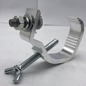 Image 2 - Ganchos ligeros de Material aluminio 100 Uds. 30 50mm rodamiento de carga 25kg para DJ Disco luz Par luz con cabezal móvil para escenario ganchos de barra de Club