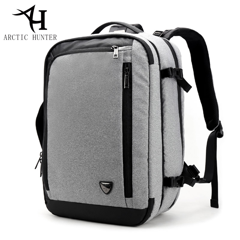 ARCTIC HUNTER New Men Travel Backpack Bag Disassemble Multifunction 17 inch Laptop Backpacks For Teenager Business Male Mochila цена