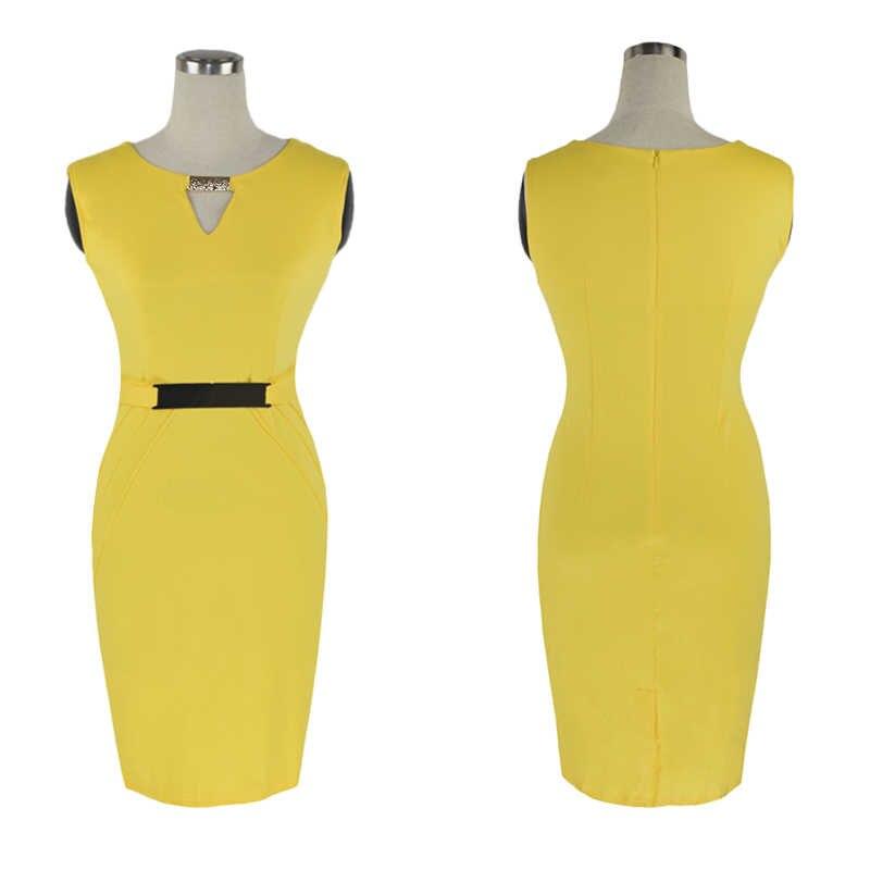 75cc91cc25b ... Модные женские платья 2014 года с завышенной талией длиной до колена с блестками  Элегантные повседневные облегающие