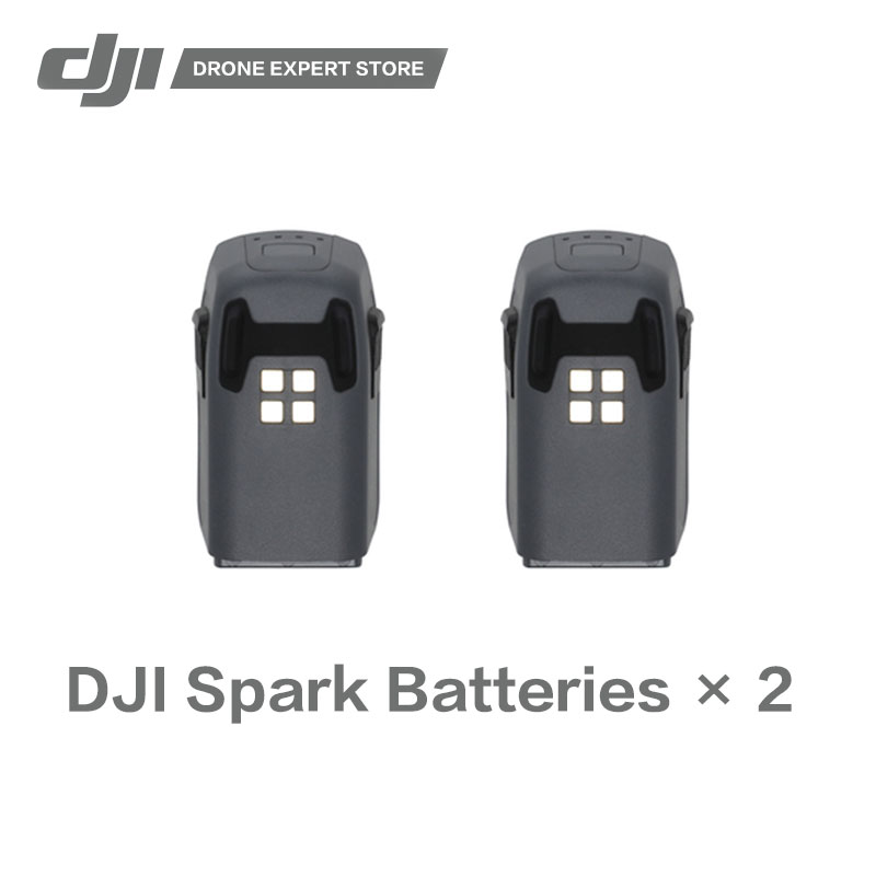2pcs/set Original DJI Spark Intelligent Flight Battery 16-minute Max Flight Time цена