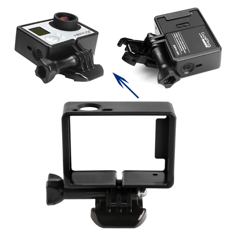 Standard Border Frame Mount Cover Protective Housing Case For GoPro Hero 3 3+ 4 - ANKUX Tech Co., Ltd