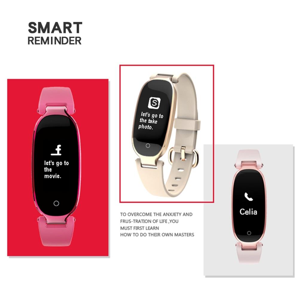 ZUCOOR Smart Bracelet Fitness Pulse Band Electronics Watch RB88 Mens Bracelets Heart Rate Monitor Pulseira Pulsera Inteligente