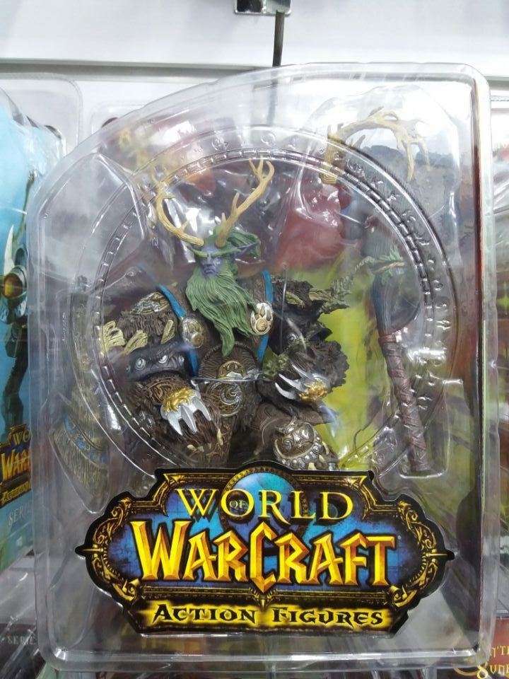 Action Toys For Boys : Hot game wow druid of claws pvc classic action figure toys