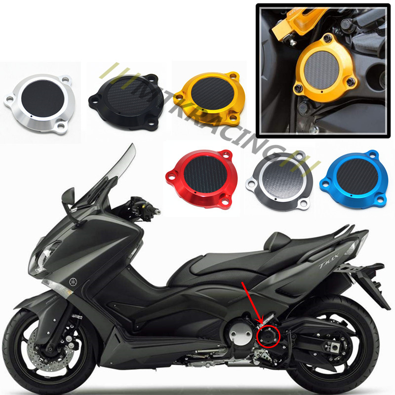 Motorcycle TMAX Engine Stator Cover CNC Engine Protective Cover Protector For Yamaha T-max 530 General common cnc motorbike accessories motorcycle engine stator cover engine protective cover for yamaha t max tmax 530 2012 2013 2014 2015