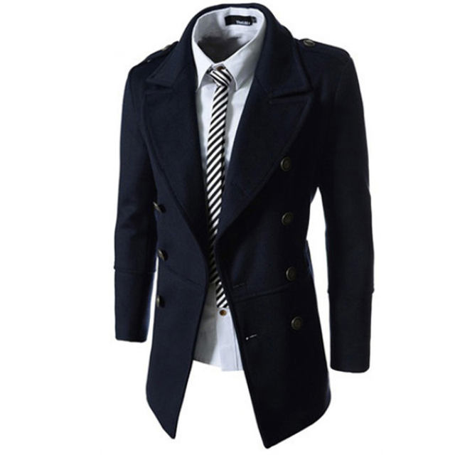 Veste trench coat homme