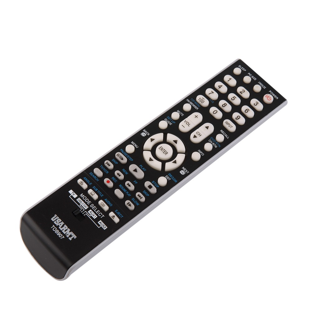 Durable TOB907 LED Replacement TV Remote Control Universal For All Toshiba LCD LED HDTV 3D Smart TV Wholesale Drop Shipping universal replacement remote control fit for vizio vp42 vp50 vm190vxt lcd led plasma hdtv tv
