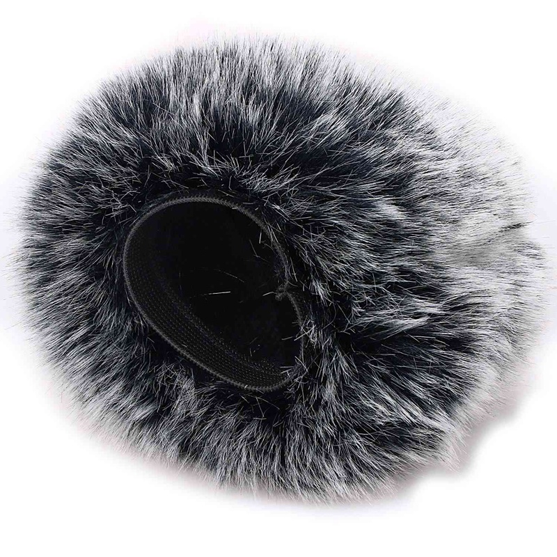 Microphone Furry Windscreen   Mic Wind Cover Fur Filter As Foam Cover For Blue Yeti, Blue Yeti Pro Usb Condenser Mic