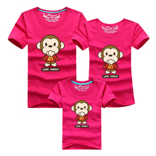 Mother Kids 2016 Cartoon T Shirt Men Sport Brand Clothing Skate Harajuku Anime T-shirt Polera Hombre Tshirt Family Look Daughter