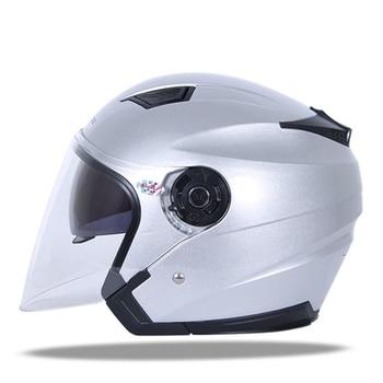 JIEKAI Motorcycle Helmet Unisex Colorful Light Crash Hemelt Double Lens Breathable Comfort Chopper Moto Helmet For Motorcycle