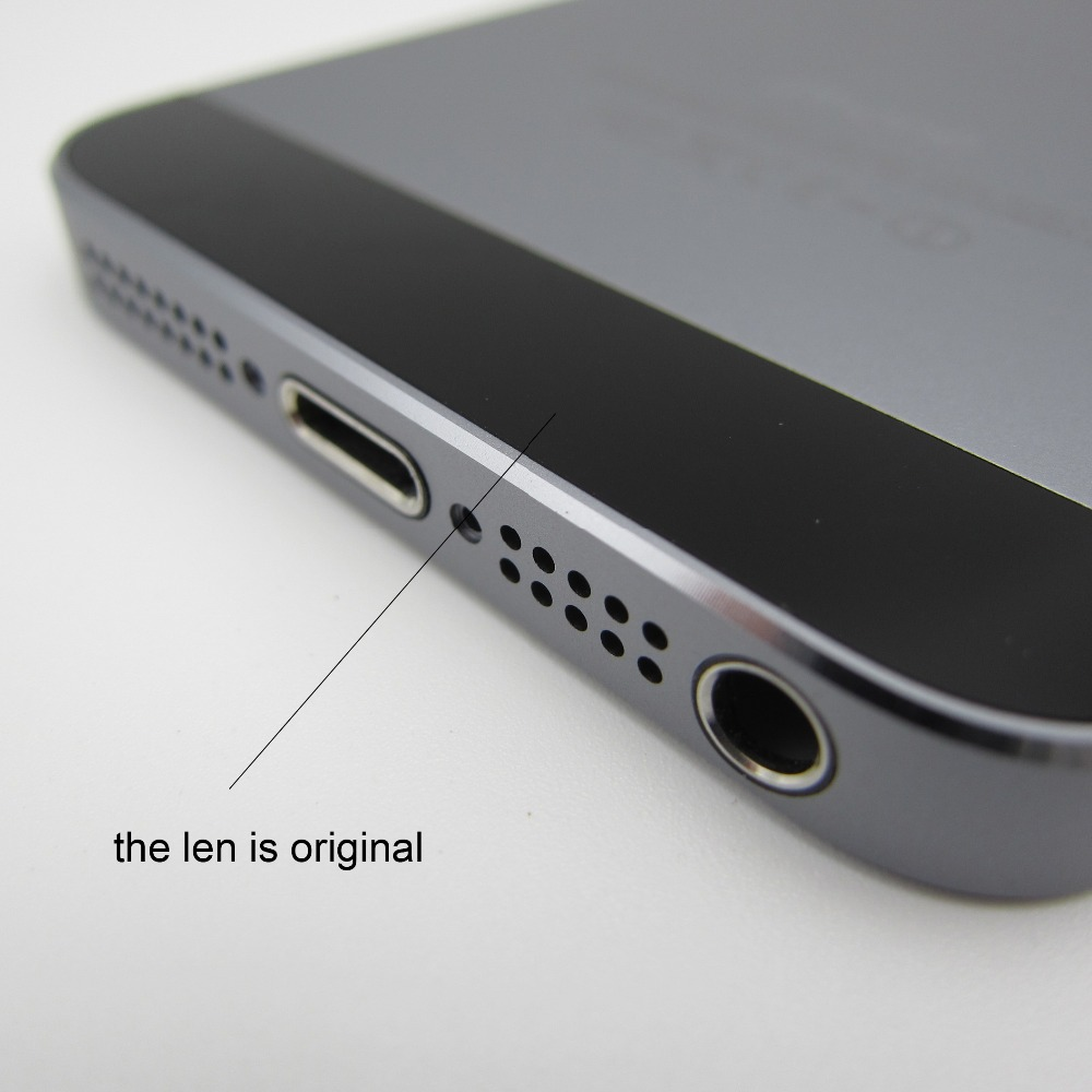 High quality Space Gray Back Cover Housing Replacement Metal Alluminum Middle Frame Battery Door for iPhone