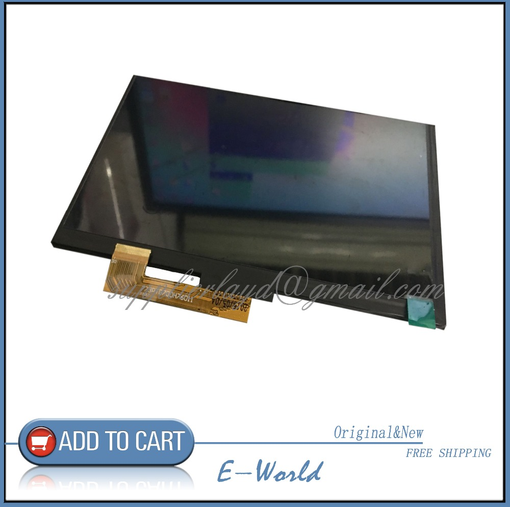 Original and New 7inch LCD Display Oysters T72V 3g TABLET LCD Screen Panel Frame inner Module Replacement Free Shipping