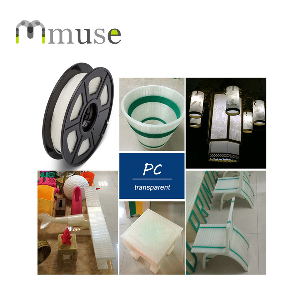 3D Printer Filament Polycarbonate PC Filament 1.75/3.00mm for Makerbot Reprap Mendel UP Machine 1kg(2.2lb) 3d printer parts filament for makerbot reprap up mendel 1 rolls filament pla 1 75mm 1kg consumables material for anet 3d printer