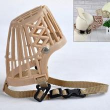 Basket-Cage Dogs-Muzzle Plastic Straps Pet-Dog Anti-Biting Nylon Adjustable Mask 7-Sizes