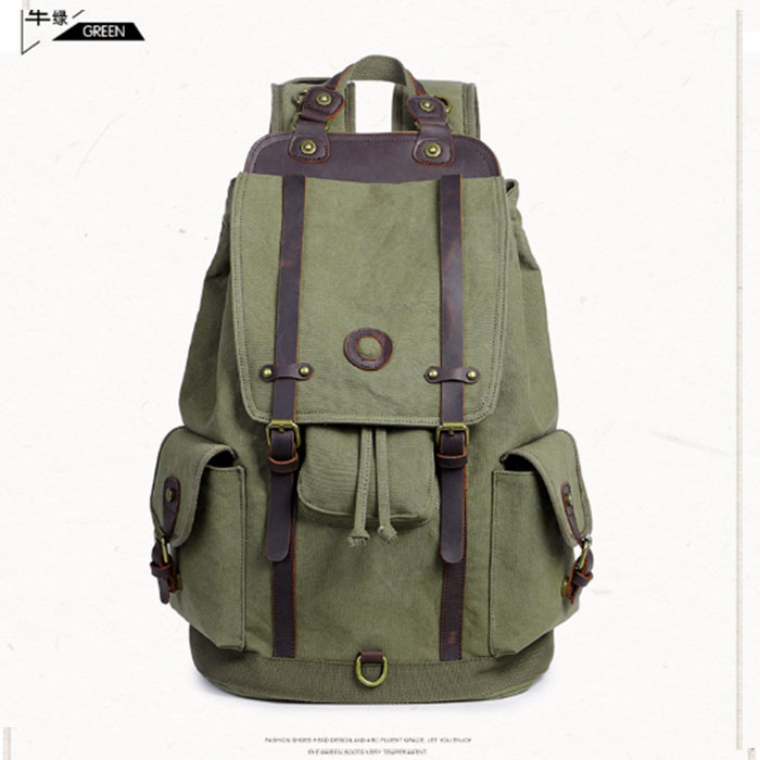 Men Male Canvas Backpack Gray Casual Rucksacks aptop Backpacks College Student School Backpack Women Mochila for Adults Khaki xi yuan backpack men male canvas college student school backpack casual rucksacks laptop backpacks women mochila