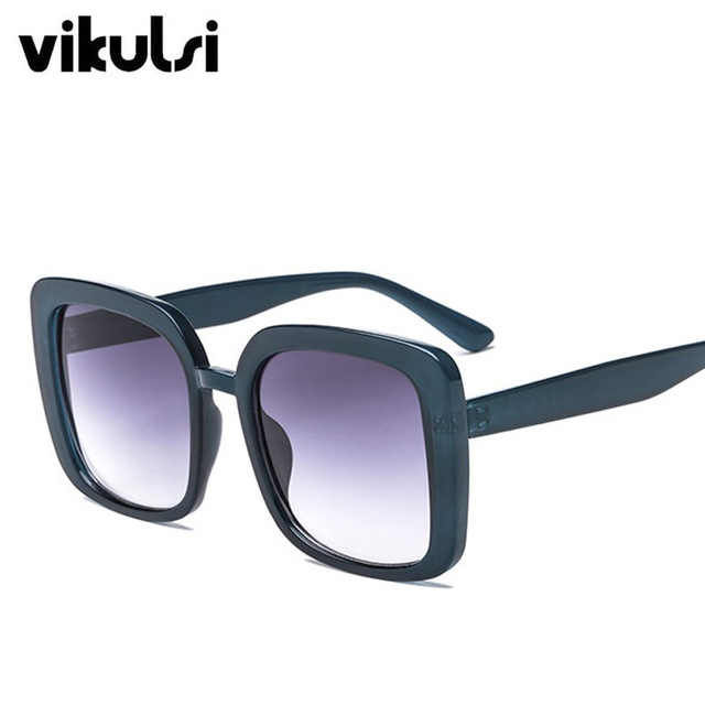 2018 Square Women's Sunglasses Fashion Sunglasses Luxury Brand Glasses Designer Shades Sun Glasses Women Men female oculos UV400 1