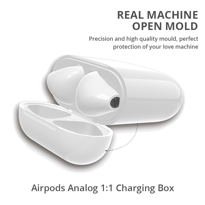 Charging-Box Earphone Headset Perfect Match Apple Bluetooth Wireless For Airpods House