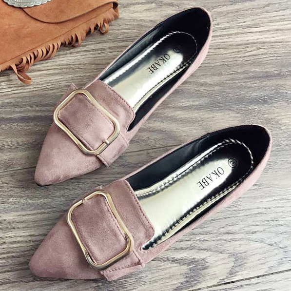 Fashion Women Shoes Woman Flats Casual Comfortable pointed toe Rubber Women Flat Shoe Hot Sale New Flat ALHF95 2017 fashion women shoes woman flats high quality casual comfortable pointed toe rubber women flat shoes plus size 35 42 s097