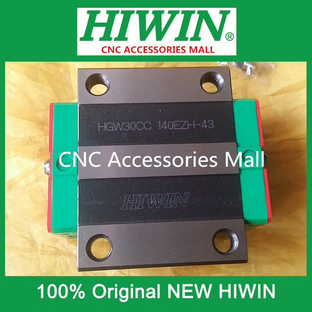 1pcs HIWIN HGW30CC New original linear guide block for linear rails HGR30 free shipping to argentina 2 pcs hgr25 3000mm and hgw25c 4pcs hiwin from taiwan linear guide rail