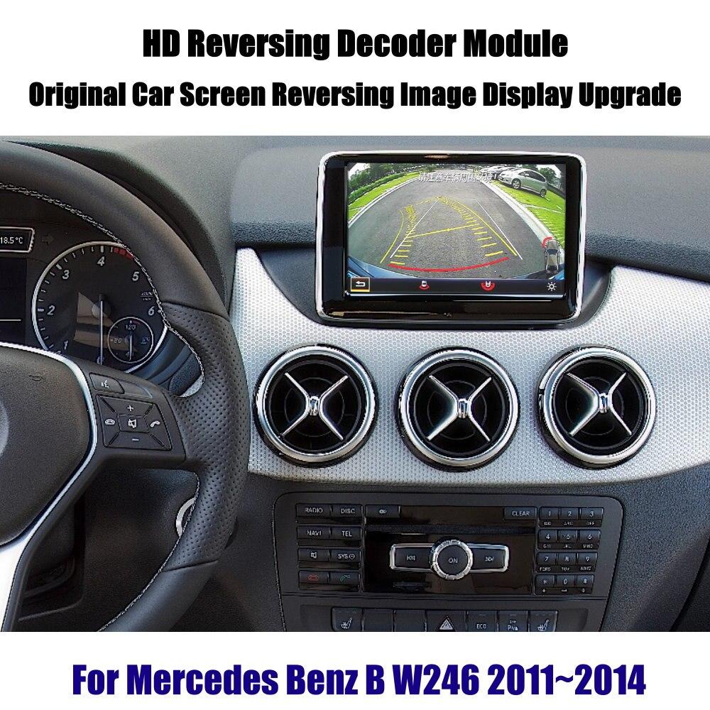 Liandlee For Mercedes Benz B W246 2011 2014 Reverse Decoder Module Rear Parking Camera Image Car