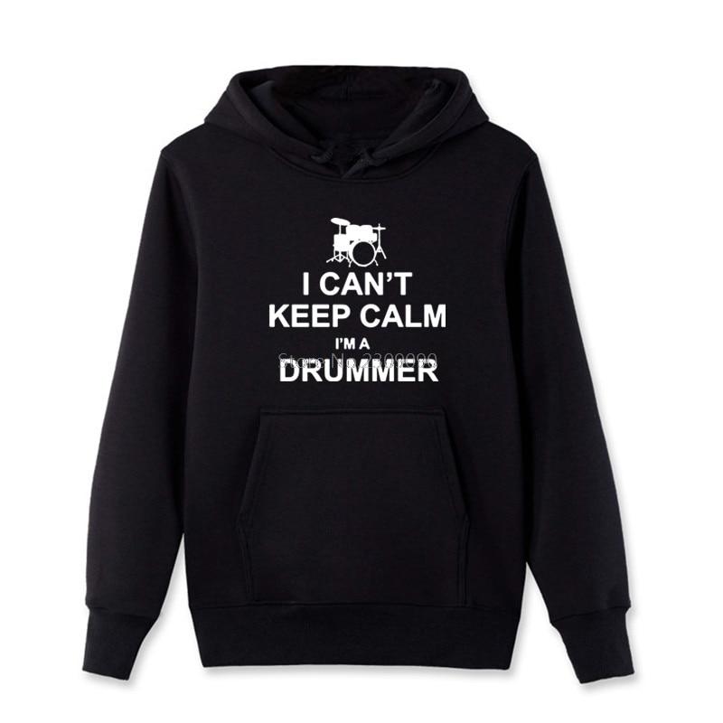 Cant Keep Calm Im A Drummer Funny Music Drum Crewneck Sweat Shirts Sweatshirts