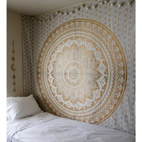 1.5*2.1m Retro Tapestry 2018 New Printed Wall Carpet Table Cloth Picnic Yoga Beach Towel Wall Hanging Fabric Mandala Tapestries