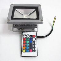 10 W 20 W 30 W 50 W RGB LED Outdoor Schijnwerper Waterdichte Multicolor + 24key IR Afstandsbediening AC 85-265 V
