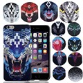 Новый Для iPhone 6 S Марсело Burlon Чехол Тигр Лев Лиса ПК Funda Обложка для iPhone 6 6 S Plus 7 Плюс 5 SE Марсело Case Розничной Коробке