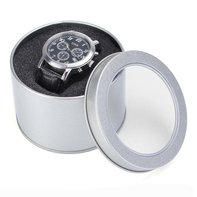 Round Shaped Watch Cases
