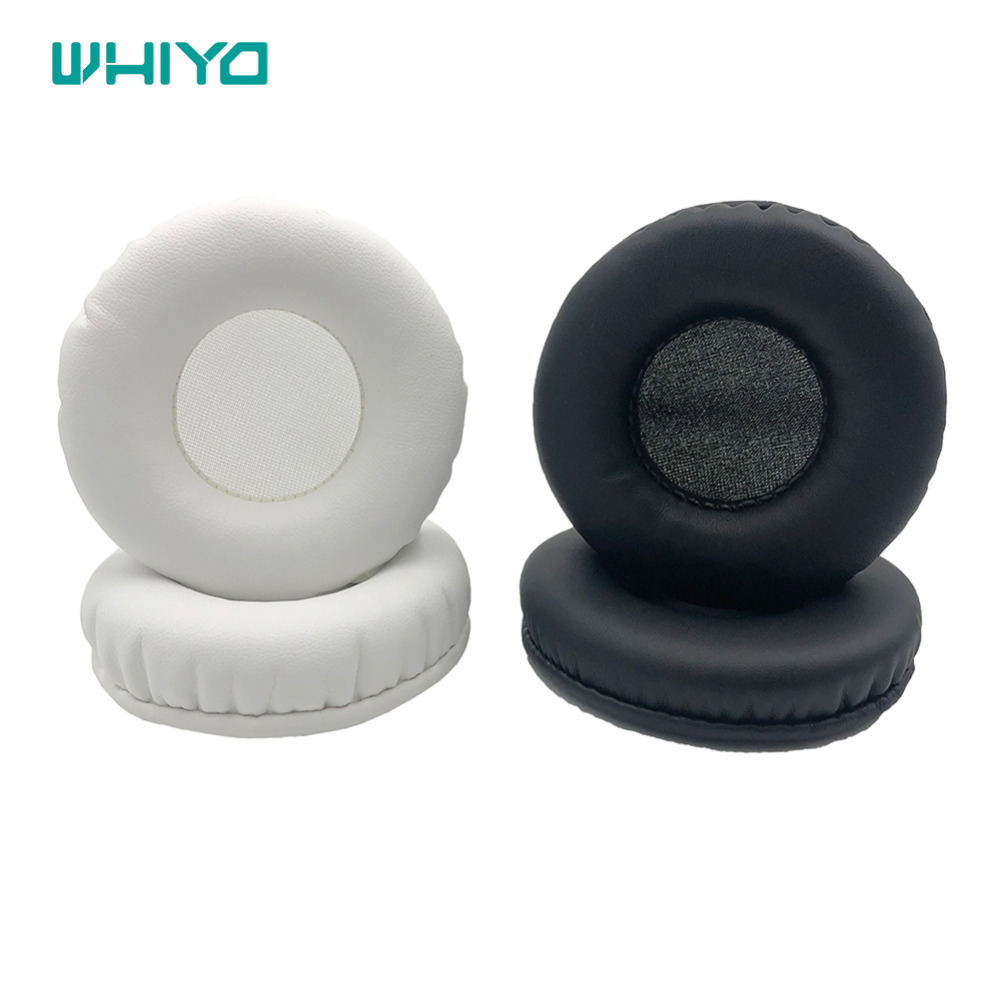 Whiyo 1 pair Sleeve Ear Pads Cushion Earpads Pillow Replacement Cover for Tourya B7 Wireless Headphones image