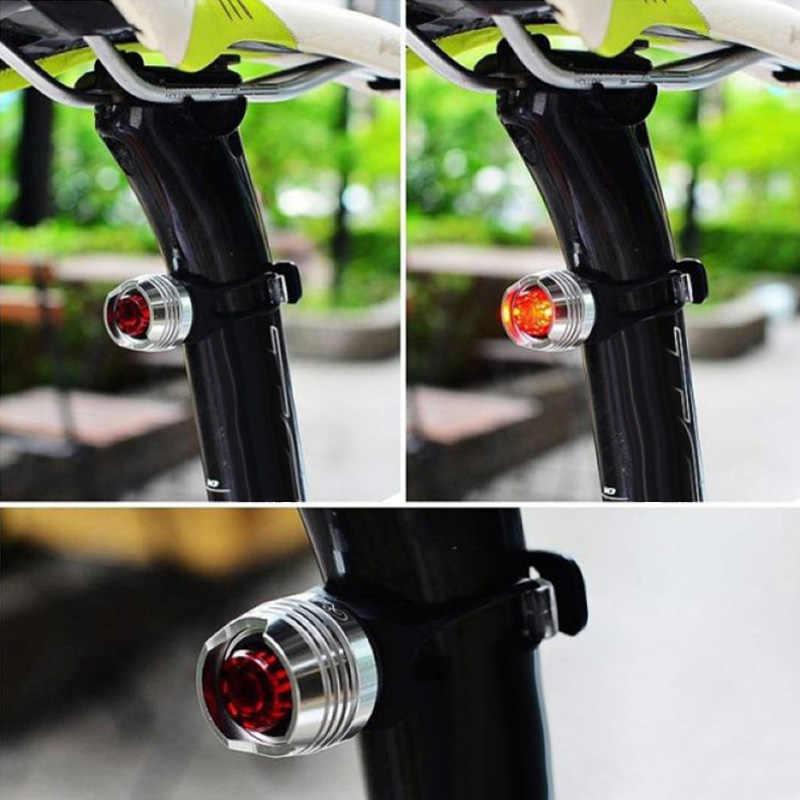אלומיניום פנס אופני LED קדמי מנורת חזרה זנב אחורי אור אופניים אביזרי YS-BUY
