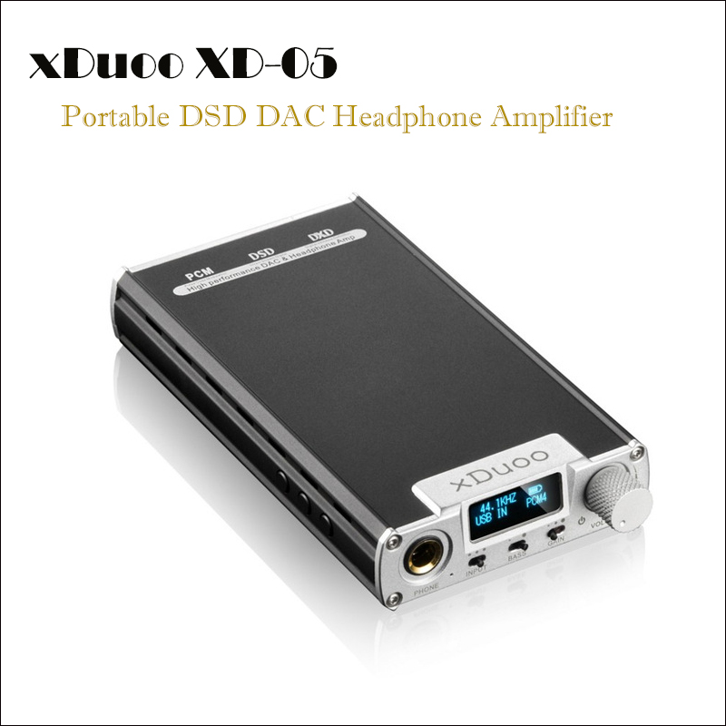 xDuoo XD-05 DSD DAC Headphone Amplifier Hifi Earphone Amplifier Headphone Amp DAC Audio Portable USB Headset Amplifier WM8740 original xduoo xd 05 portable audio dac headphone amplifier hd iled display professional pc usb decoding amplifier