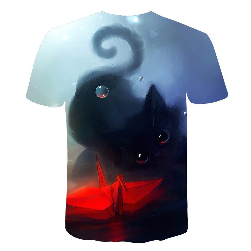 Fish Tshirt Men T Shirt 3D T-Shirt Harajuku Tee Streatwear Short Sleeve TXKH1070 Asian S